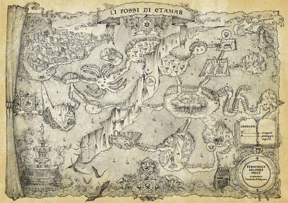 Francesca Baerald - Freelance Fantasy Map Artist and Cartographer on