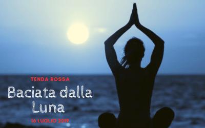 """Tenda Rossa Genova """"Baciata dalla Luna"""" – 16 luglio 2019"""