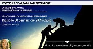 Costellazioni familiari sistemiche serali (Riccione) @ Hotel Select Suite & SPA