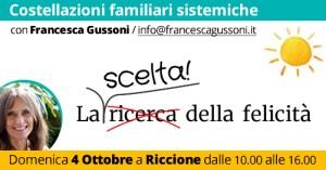 Costellazioni familiari a Riccione @ Asd Corpo e Mente in Equilibrio