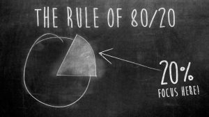 The rule of 80-20 Francesca Antonetti