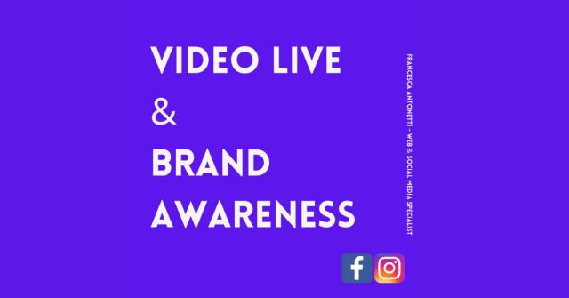 Strategia di Video Live - Francesca Antonetti Digital Strategist
