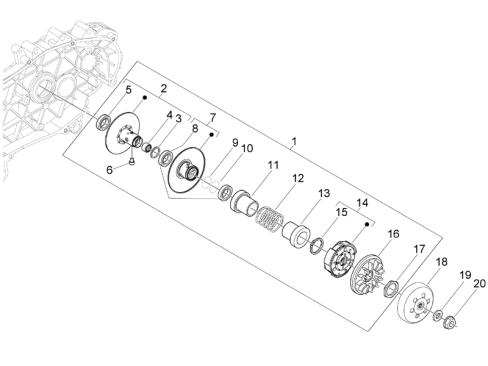Vespa Granturismo 200 L 4T 4V NOABS E2 2005