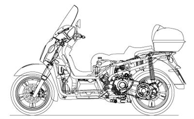 Scarabeo 500 2003-2006 (APAC, EMEA, NAFTA)
