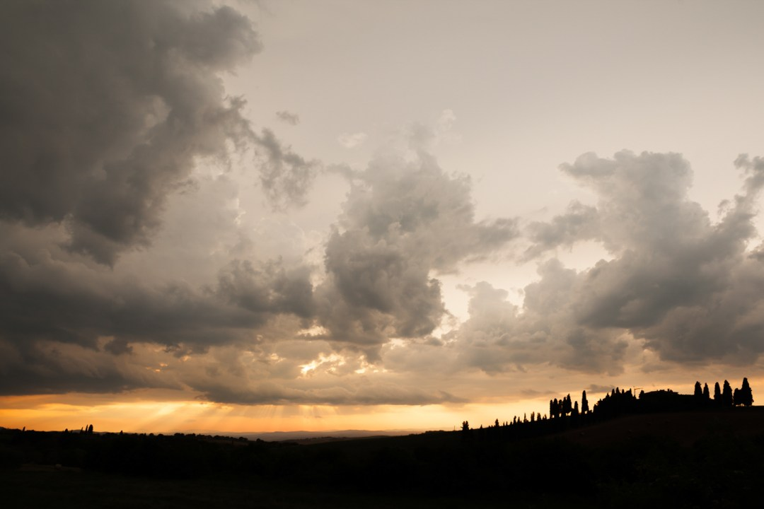 Tramonto Val D'Orcia