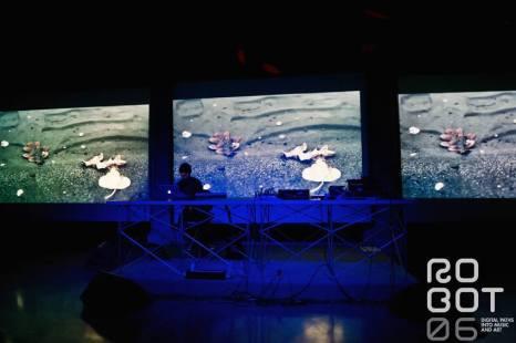 Francesco Giannico live at Robot Festival 2013