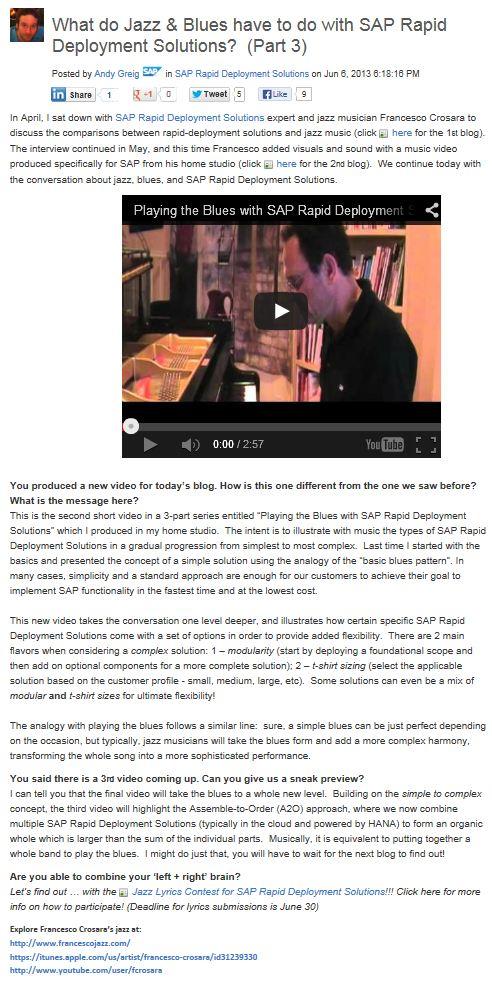 2013-06 SAP Jazz Interview whole