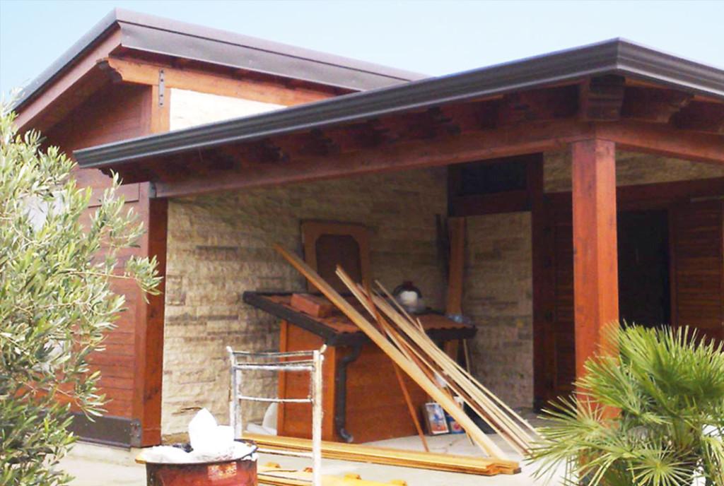 Case in legno strutture in legno  Francesco Mirrione legnami