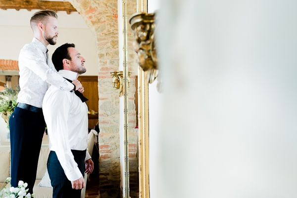 Papillon da sposo | Matrimonio a Cortona intimate wedding in Tuscany