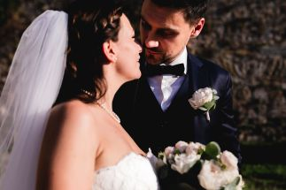 Close up coppia | Matrimonio a Firenze​