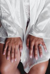 Brides' hands | Villa la palagina resort