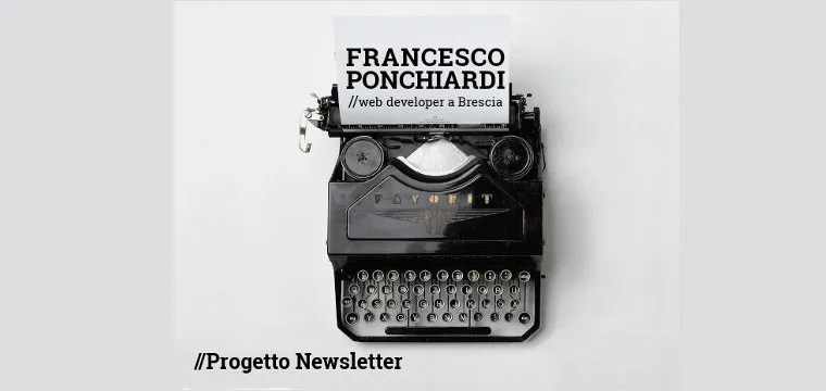 Progetto Newsletter