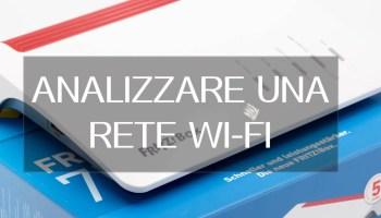 analisi wifi