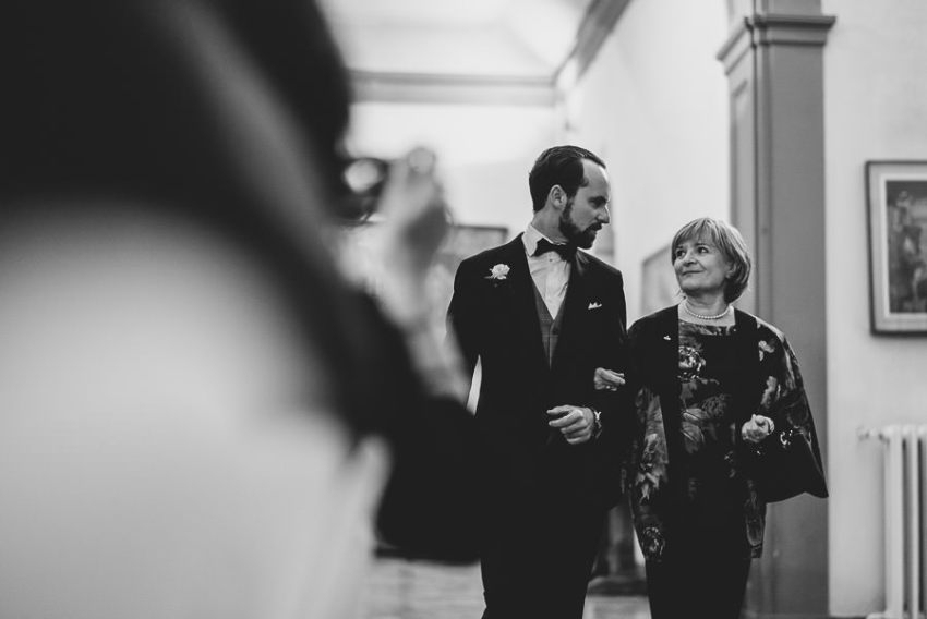 Multicultural Wedding In Florence Italy