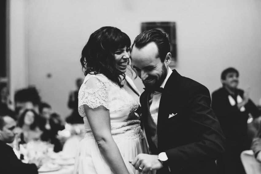 Multicultural Winter Wedding In Italy