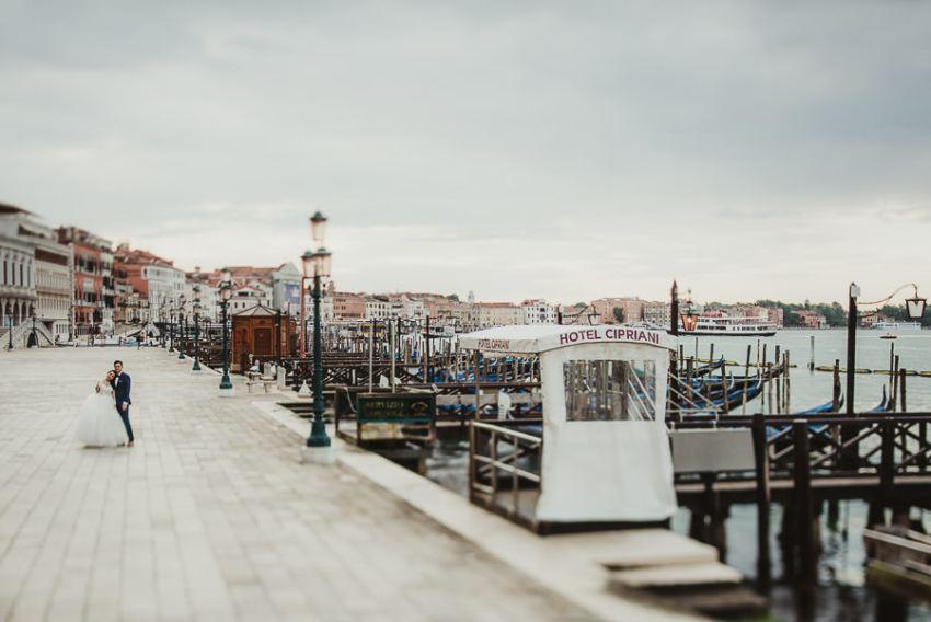 Venice photographer / bride creative epic portrait