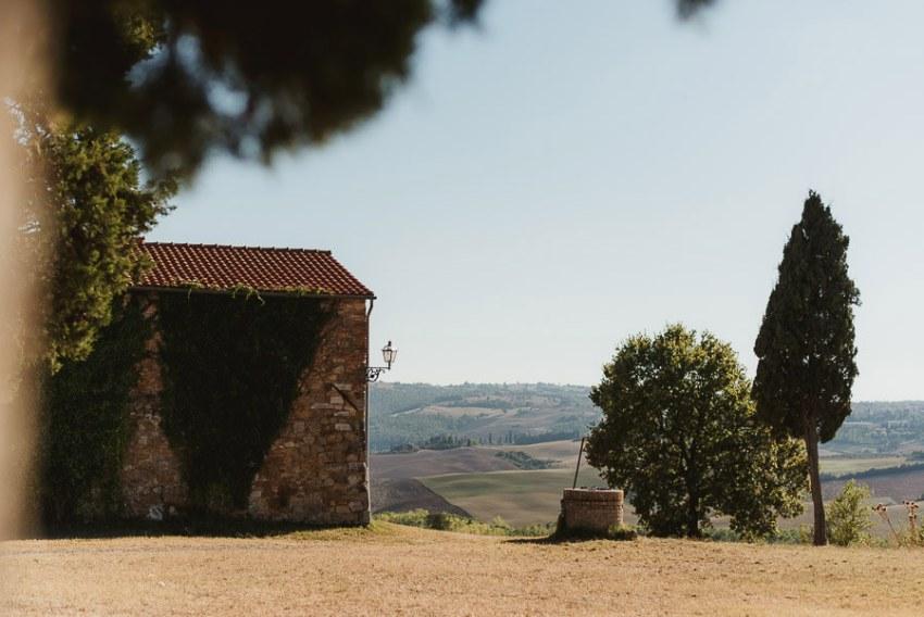 Wedding proposal inspiration proposing in Italian Countryside