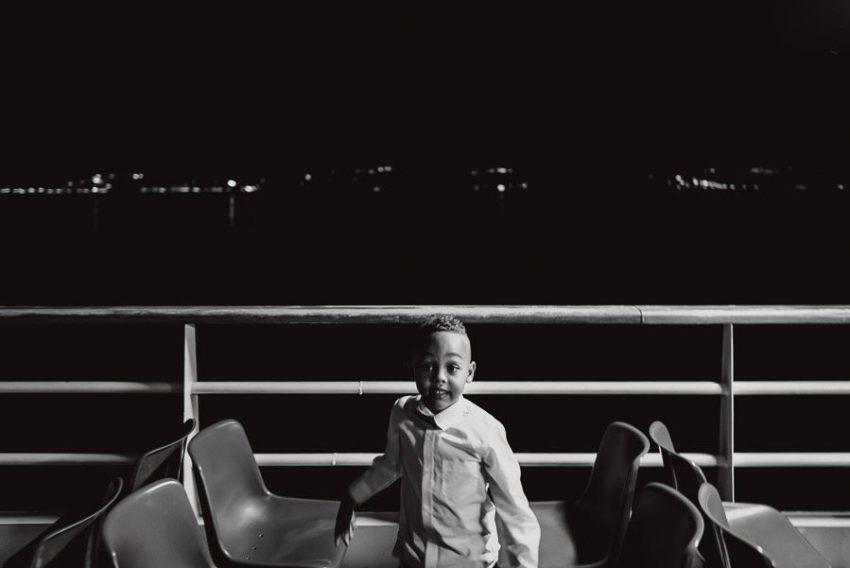 Sirmione Wedding photographer boat dance floor