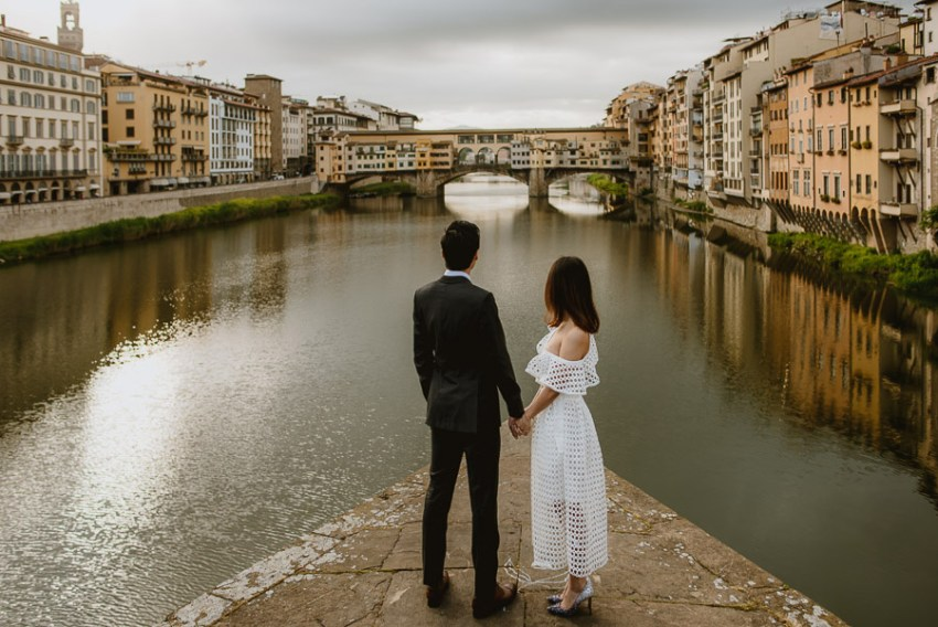 Pre Wedding Photography Italy Tuscany candid portrait