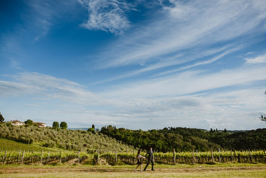 Pre Wedding Photography Italy tuscan vineyard lifestyle laid bac