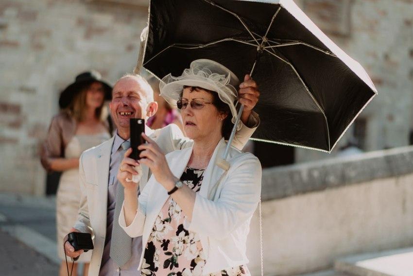 luxury wedding photographer umbria italy outdoor cocktail