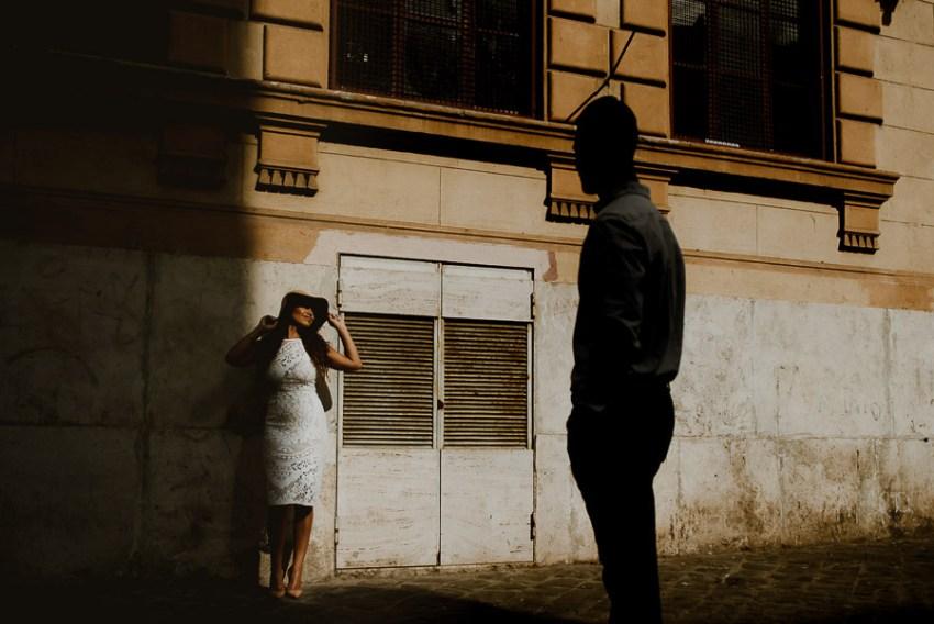 wedding photographer rome engagement session isola tiburtina