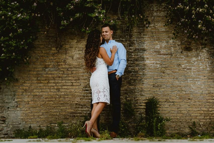 wedding photographer rome engagement session quartiere ebraico
