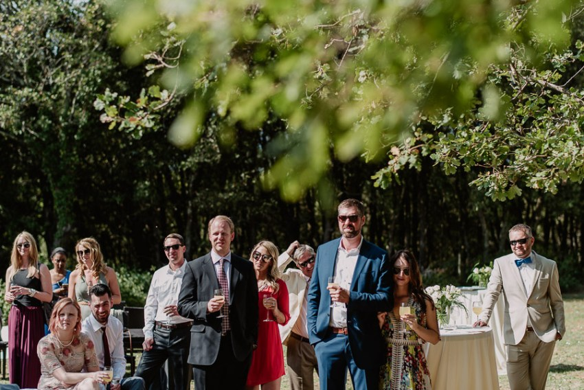 Exclusive wedding photographer tuscany italy lunch pool garden