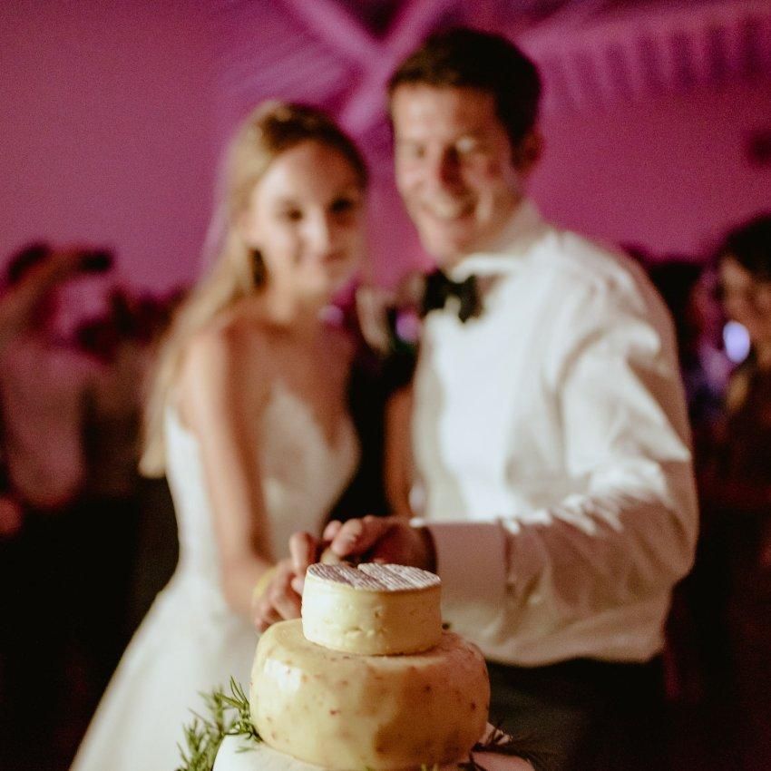 Siena wedding photographer borgo scopeto outdoor dinner speeches