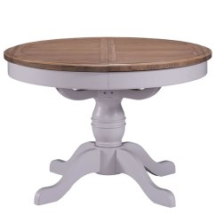 Round Table 6 Chairs Dimensions Small Leather Club Everette Two-tone Extending Dining And