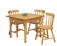 Sutton Oak Square Kitchen Table and Chairs