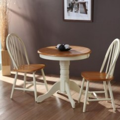 Small Kitchen Table Remodelling Weald Buttermilk Traditional Round Breakfast Wooden And Chairs