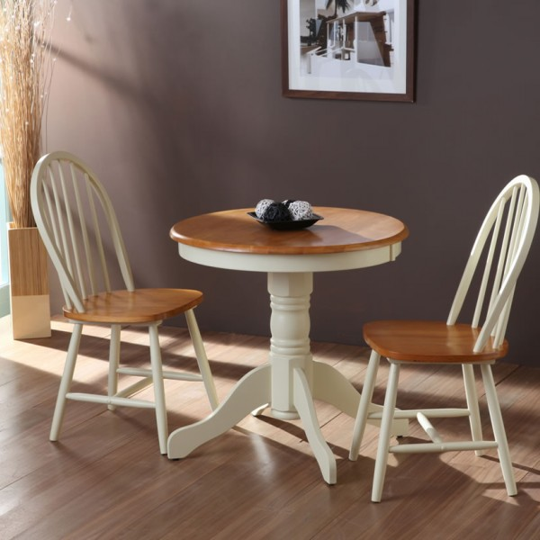 kitchen tables round sink types weald buttermilk traditional breakfast table and chairs