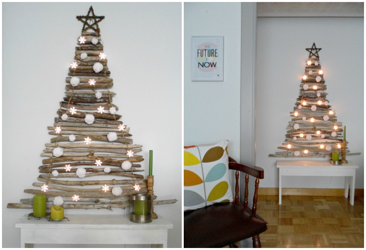 hanging chair for bedroom diy wooden futon chairs 10 creative christmas tree ideas small spaces - frances hunt
