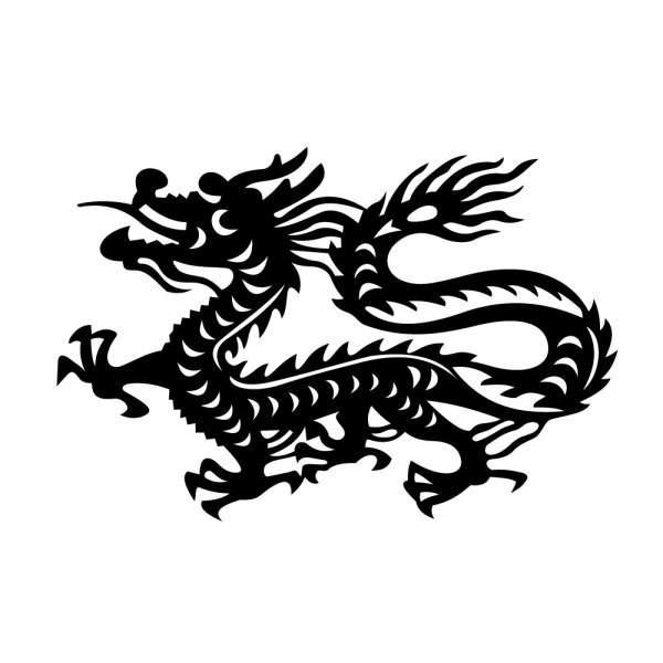 Sticker Signe astrologique chinois du Dragon ?·.¸¸ FRANCE