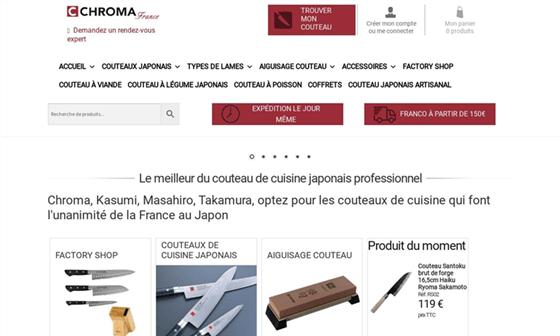 couteau de cuisine professionnel paris
