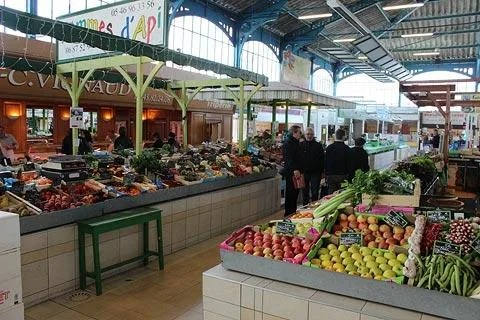 Covered Market in Cognac