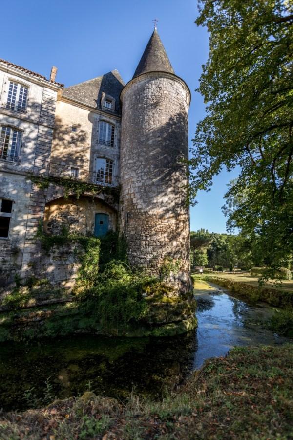 Chateau De Montastruc In Dordogne