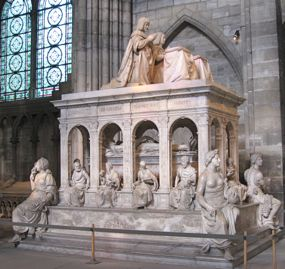 Tomb of Louis Xii and Anne de Bretagne, St Denis, France