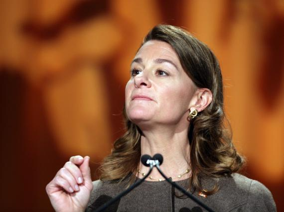 Melinda Gates lors de la célébration de la journée internationale de la femme, le 9 mars 2011 à Washington (Etats-Unis).