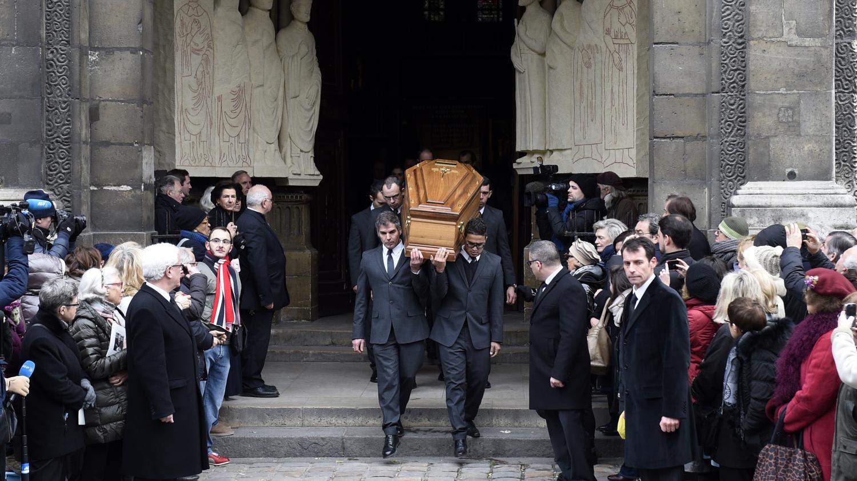 VIDEO Un millier de personnes rendent un dernier hommage  Jacques Chancel