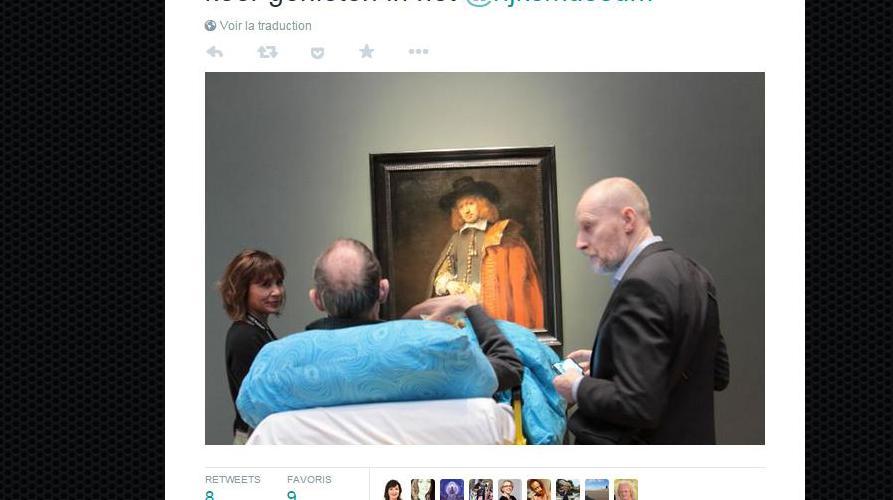 Une association d'aide aux patients en phase terminale a diffusé cette image surTwitter, le 4 mars 2015.
