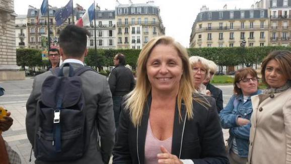 L'adjointe au maire de Levallois-Perret,Sylvie Ramond, le 9 juin 2015.