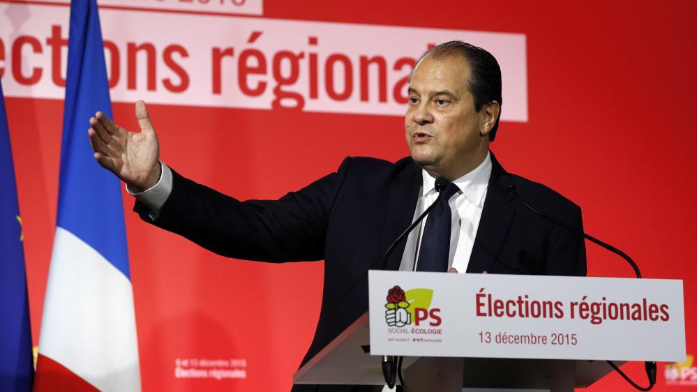 Le Premier secrétaire du Parti socialiste, Jean-Christophe Cambadélis, le 13 décembre 2015 à Paris.