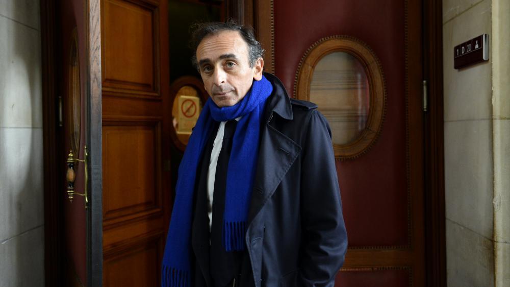 Eric Zemmour au palais de Justice de Paris, le 6 novembre 2015.