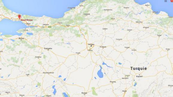 Capture écran Google Maps du quartier de Beyazit à Istanbul, le 7 juin 2016.