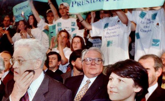 5 Février 1995 Lionel Jospin Désigné Candidat De