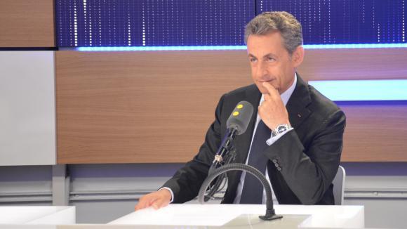 Nicolas Sarkozy,le 2 novembre 2016 sur franceinfo