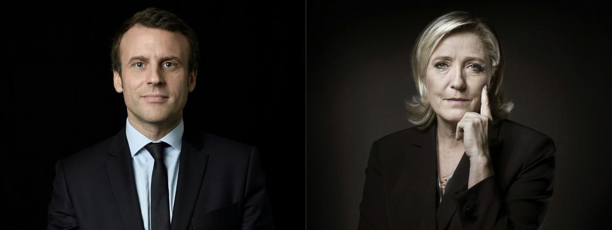 Emmanuel Macron est arrivé en tête du premier tour de l\'élection présidentielle avec 24,01% des voix devant Marine Le Pen, qui a obtenu 21,30%, selon les résultats définitifs publiés lundi 24 avrilpar le ministère de l\'Intérieur.