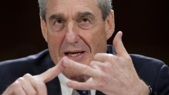 Robert Mueller, le 19 juin 2013, alors qu\'il était à l\'époque directeur du FBI.